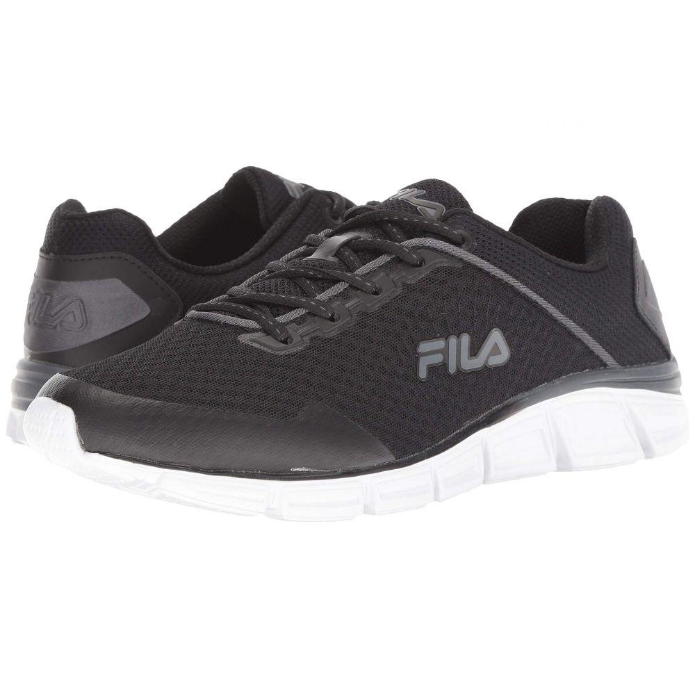 フィラ Fila メンズ ランニング・ウォーキング シューズ・靴【Memory Countdown 5 Running】Black/Castlerock/White