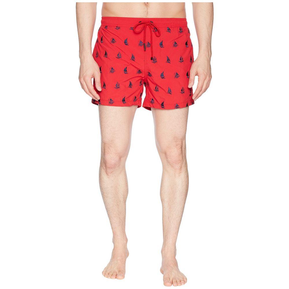 ヒューゴ ボス BOSS Hugo Boss メンズ 水着・ビーチウェア 海パン【White Shark Swim Trunk】Open Red