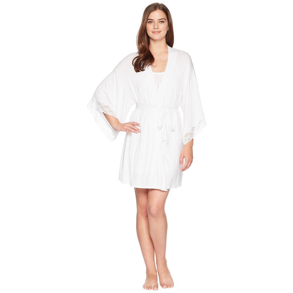 エバージェイ Eberjey レディース インナー・下着 ガウン・バスローブ【Matilda - The Mademoiselle Kimono Robe】White-2