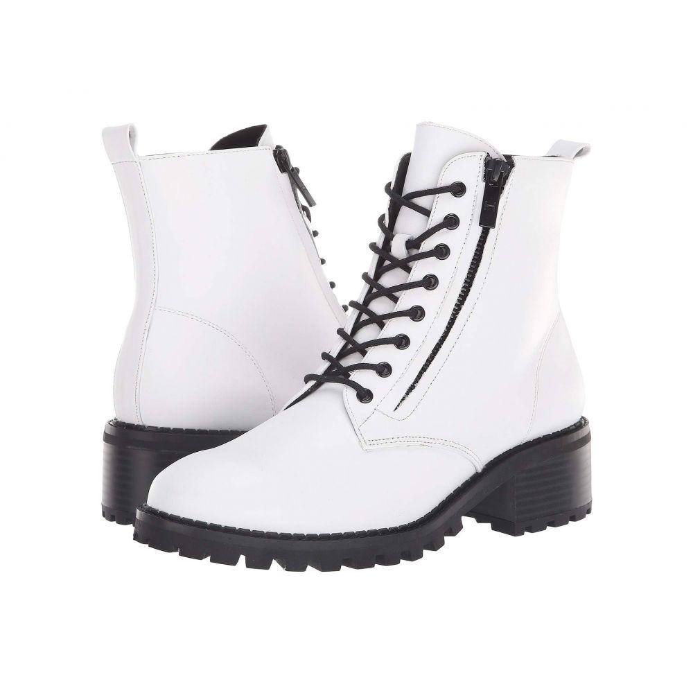 ホルストン ヘリテイジ Halston Heritage レディース シューズ・靴 ブーツ【Lois Bootie】White Leather