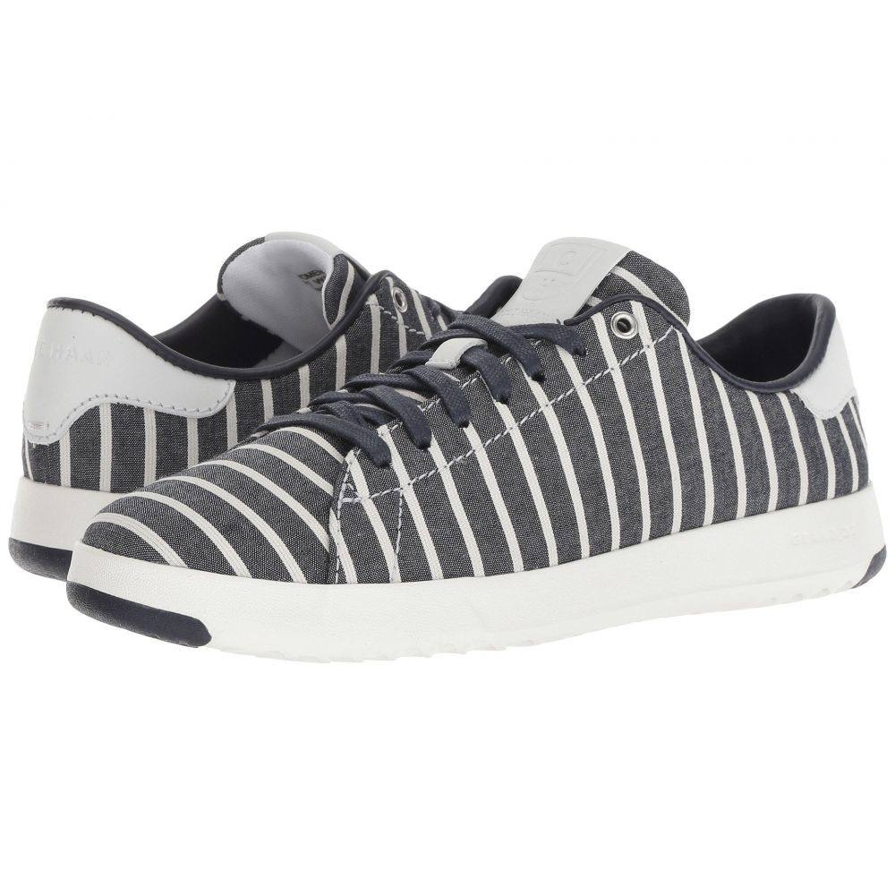 コールハーン Cole Haan レディース テニス シューズ・靴【Grandpro Tennis】Freeport Stripe/Optic White/Optic White