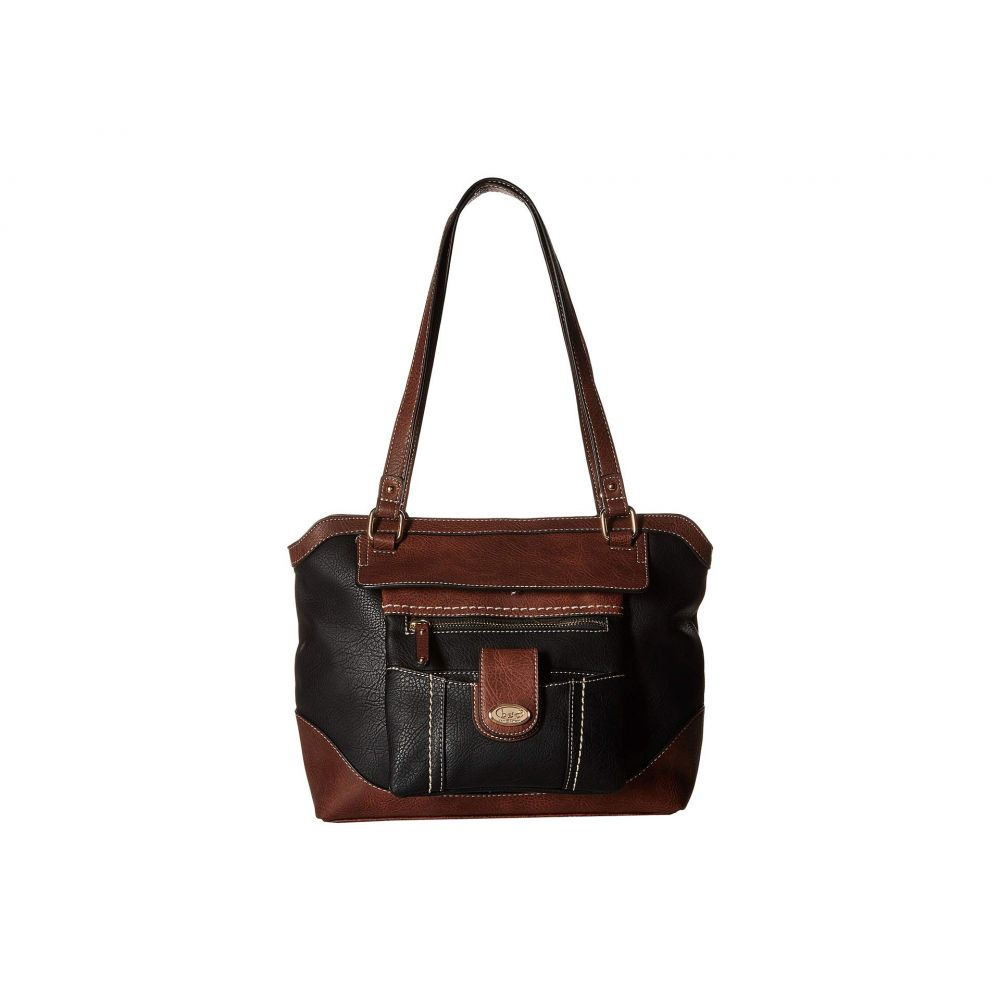 b.o.c. レディース バッグ トートバッグ【Lyford Tote with Detachable Crossbody】Black/Chocolate