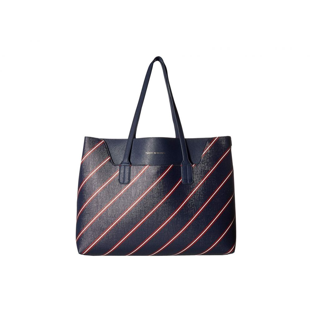 Hilfiger Navy Tote】Tommy ヒルフィガー バッグ トートバッグ【Adamaria トミー Tommy レディース