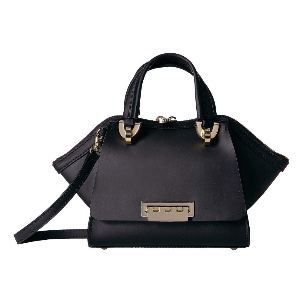 ザック ポーゼン ZAC Zac Posen レディース バッグ ハンドバッグ【Eartha Iconic Mini Double Handle Bag】Black
