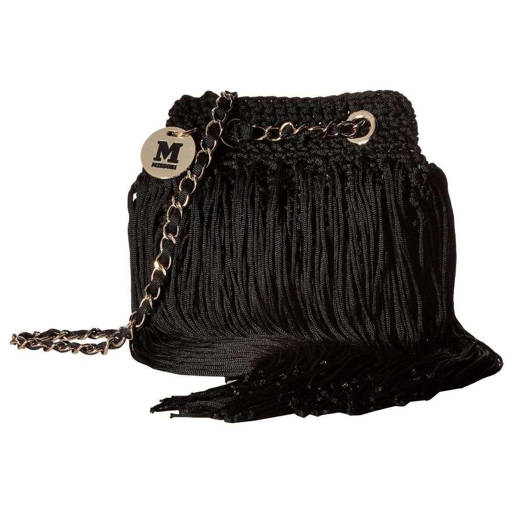 ミッソーニ M Missoni レディース バッグ ハンドバッグ【Fringe Bag】Black