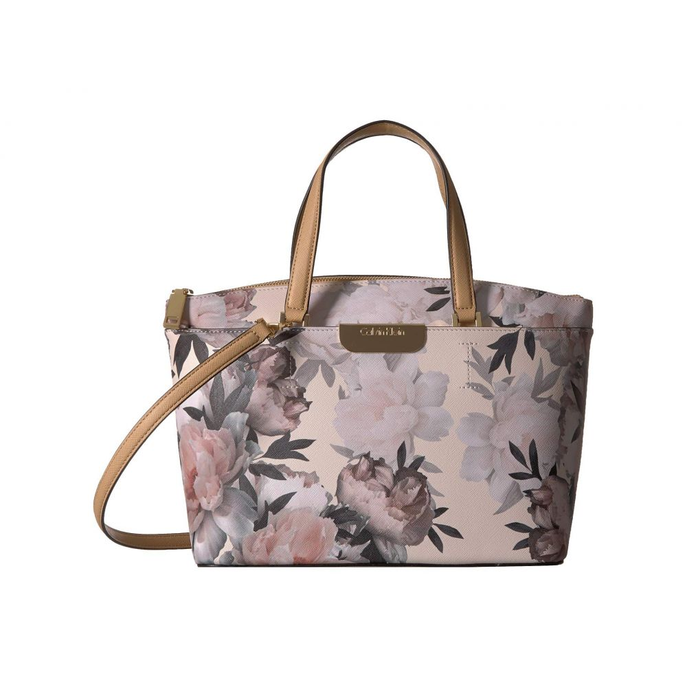 カルバンクライン Calvin Klein レディース バッグ ハンドバッグ【Lola Floral Printed Satchel】Floral