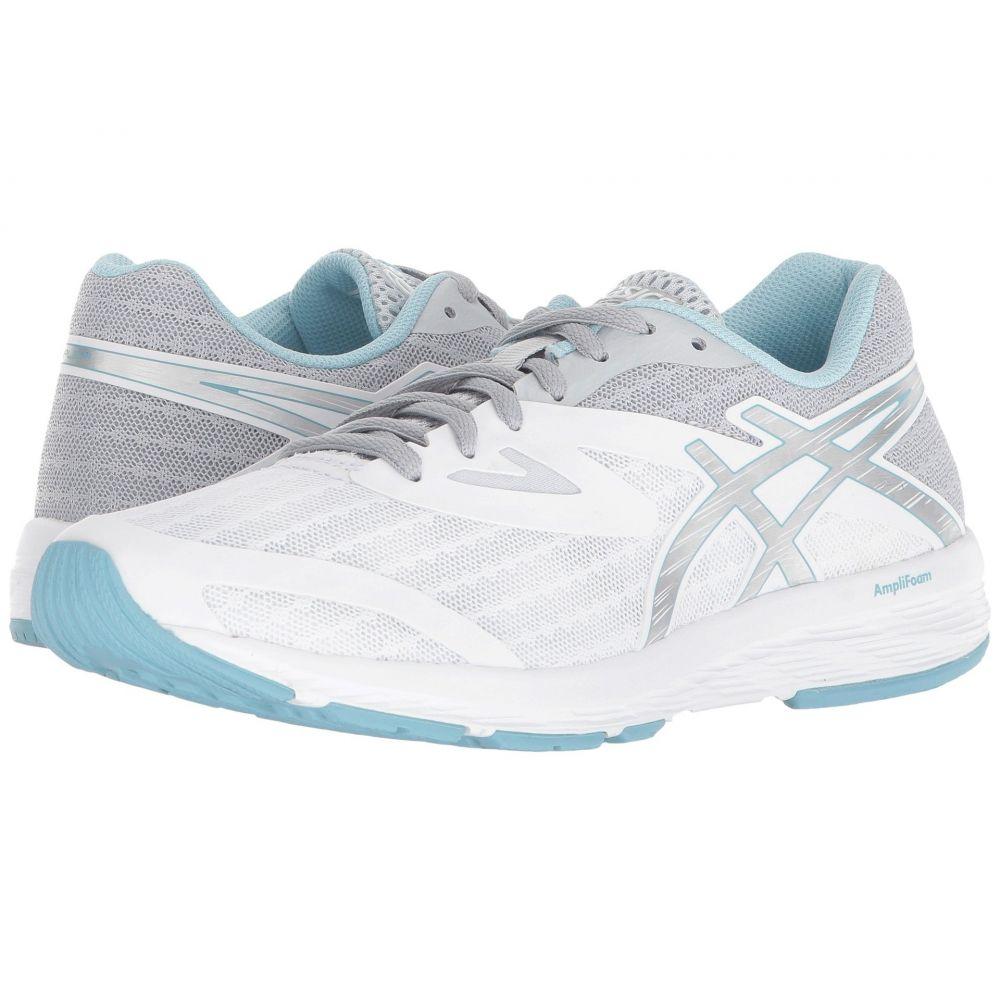 アシックス ASICS レディース ランニング・ウォーキング シューズ・靴【Amplica】White/Silver/Porcelain Blue