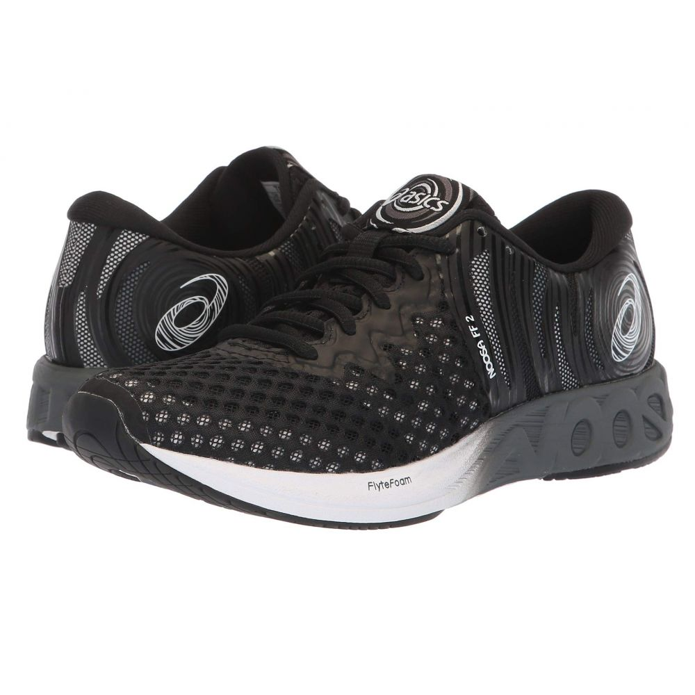 アシックス ASICS レディース ランニング・ウォーキング シューズ・靴【Noosa FF 2】Black/White/Carbon