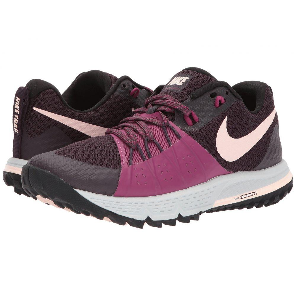 ナイキ Nike レディース ランニング・ウォーキング シューズ・靴【Air Zoom Wildhorse 4】Port Wine/Sunset Tint/Tea Berry