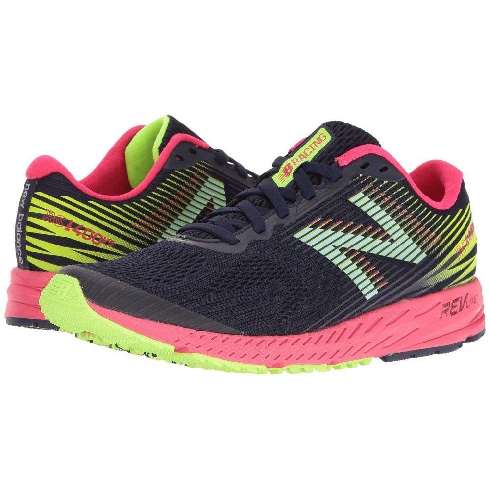 ニューバランス New Balance レディース ランニング・ウォーキング シューズ・靴【1400v5】Dark Denim/Bright Cherry/Lime Glo