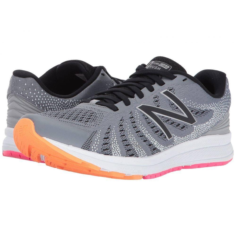ニューバランス New Balance レディース ランニング・ウォーキング シューズ・靴【Rush V3】Steel/Black/Vivid Tangerine/Alpha Pink