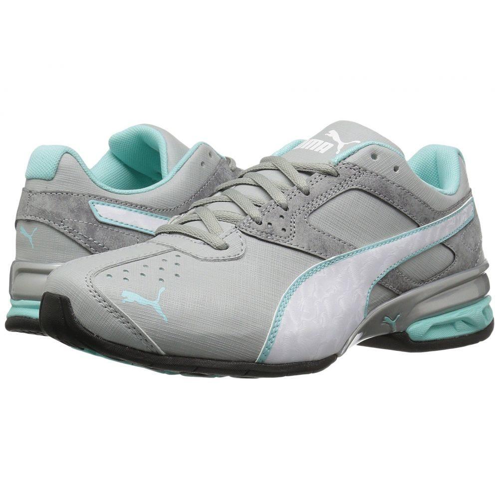 プーマ PUMA レディース ランニング・ウォーキング シューズ・靴【Tazon 6 Accent】Quarry/Puma White/Aruba Blue