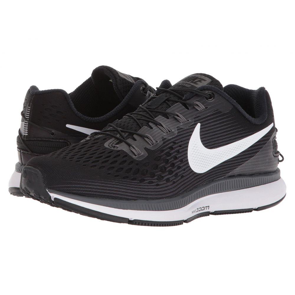 ナイキ Nike レディース ランニング・ウォーキング シューズ・靴【Air Zoom Pegasus 34 FlyEase】Black/White/Dark Grey/Anthracite