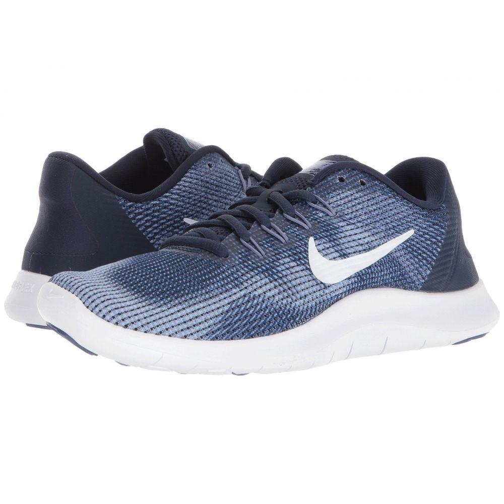 ナイキ Nike レディース ランニング・ウォーキング シューズ・靴【Flex RN 2018】Midnight Navy/White/Purple Slate