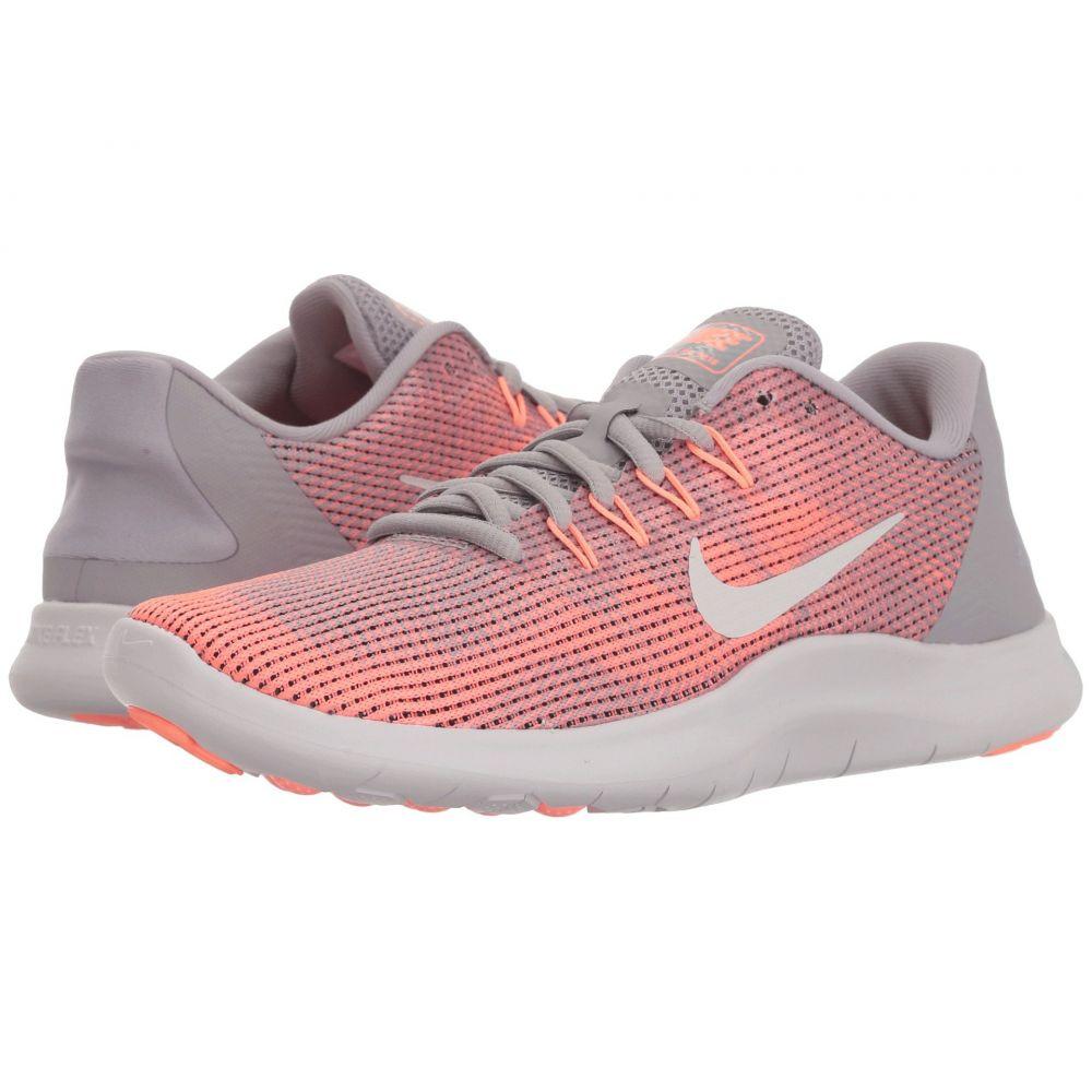 ナイキ Nike レディース ランニング・ウォーキング シューズ・靴【Flex RN 2018】Atmosphere Grey/Vast Grey/Crimson Pulse