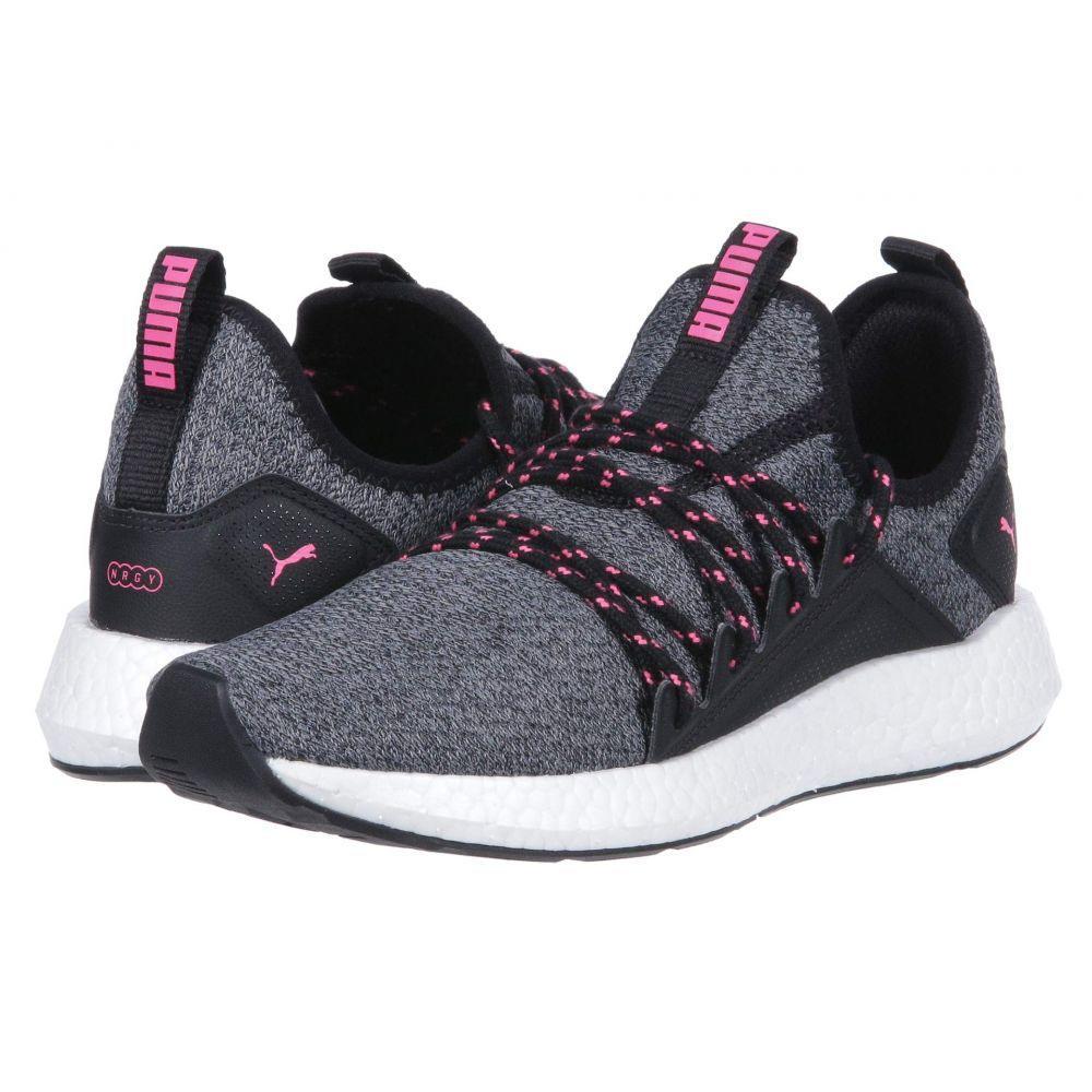 プーマ PUMA レディース ランニング・ウォーキング シューズ・靴【NRGY NEKO Knit】Puma Black/Knockout Pink