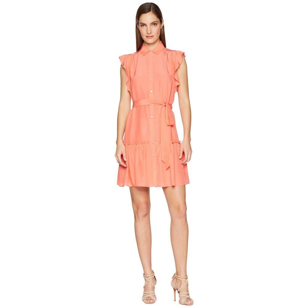 ケイト スペード Kate Spade New York レディース ワンピース・ドレス ワンピース【Ruffle Sleeve Dress】Apricot Sorbet