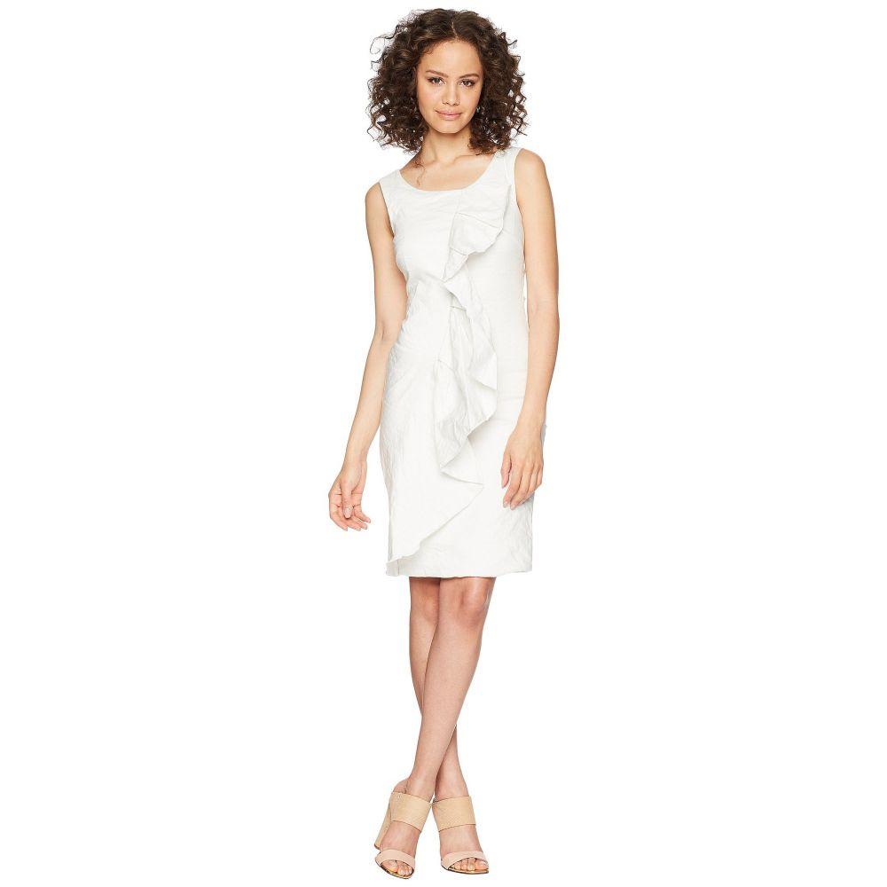 ニコルミラー Nicole Miller レディース ワンピース・ドレス ワンピース【Ruffle Dress】White