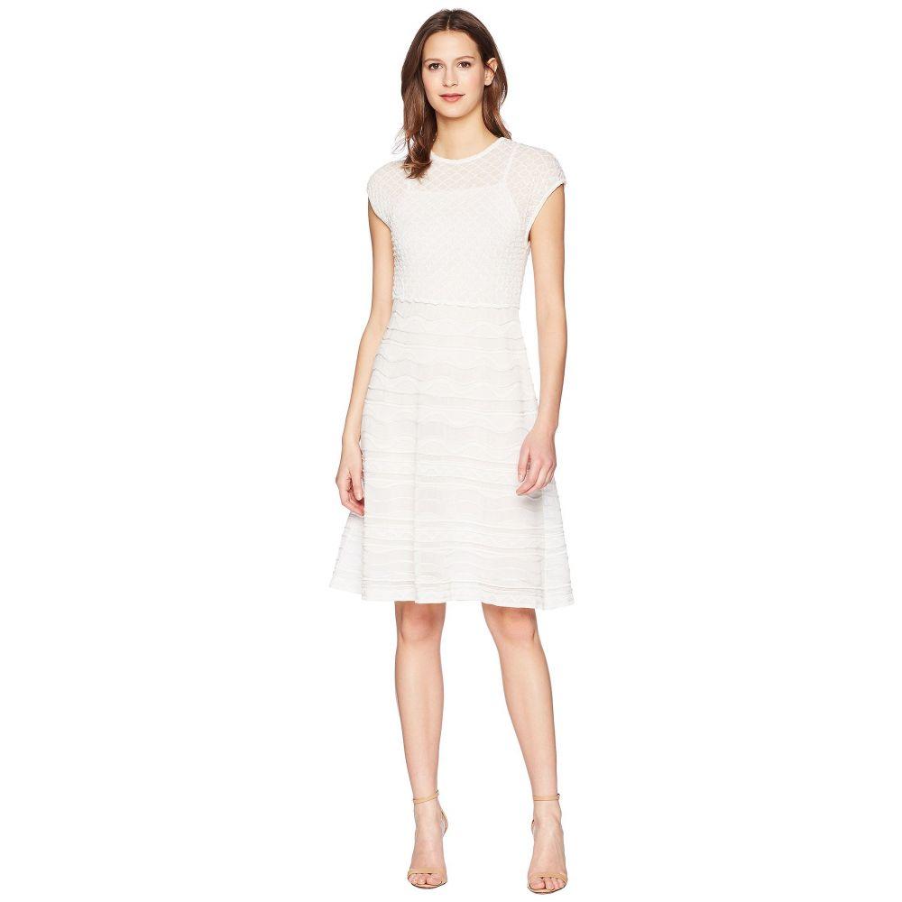 ミッソーニ M Missoni レディース ワンピース・ドレス ワンピース【Solid Rib Stitch Dress】White