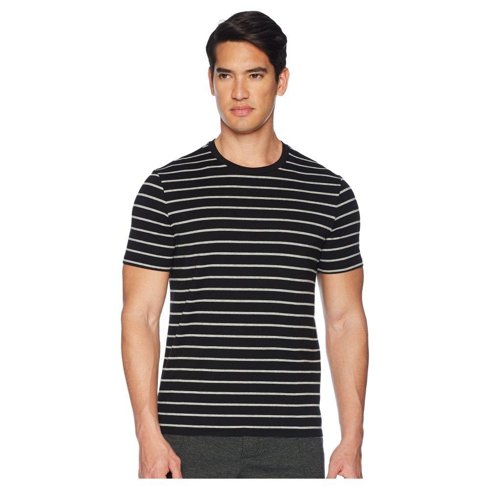 ヴィンス Vince メンズ トップス Tシャツ【HTR Stripped Short Sleeve】Black Heather Steel