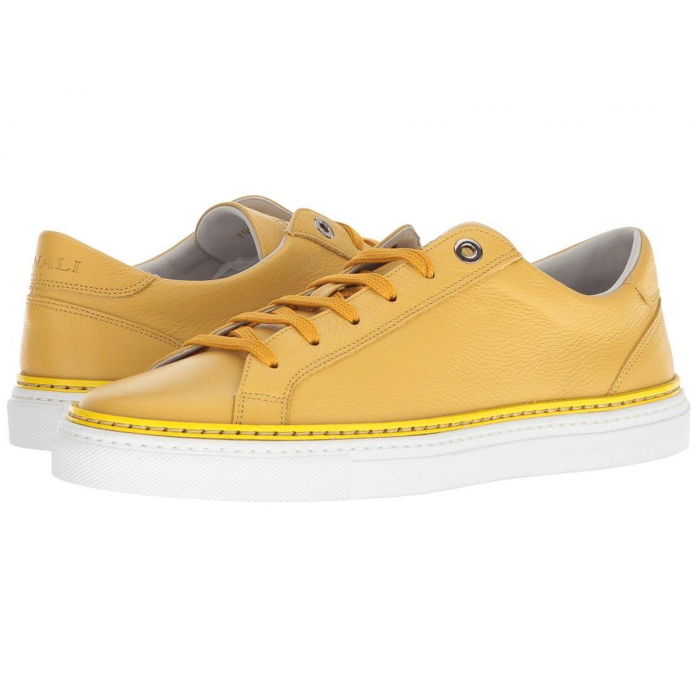 カナーリ Canali メンズ テニス シューズ・靴【Solid Tennis Sneaker】Yellow