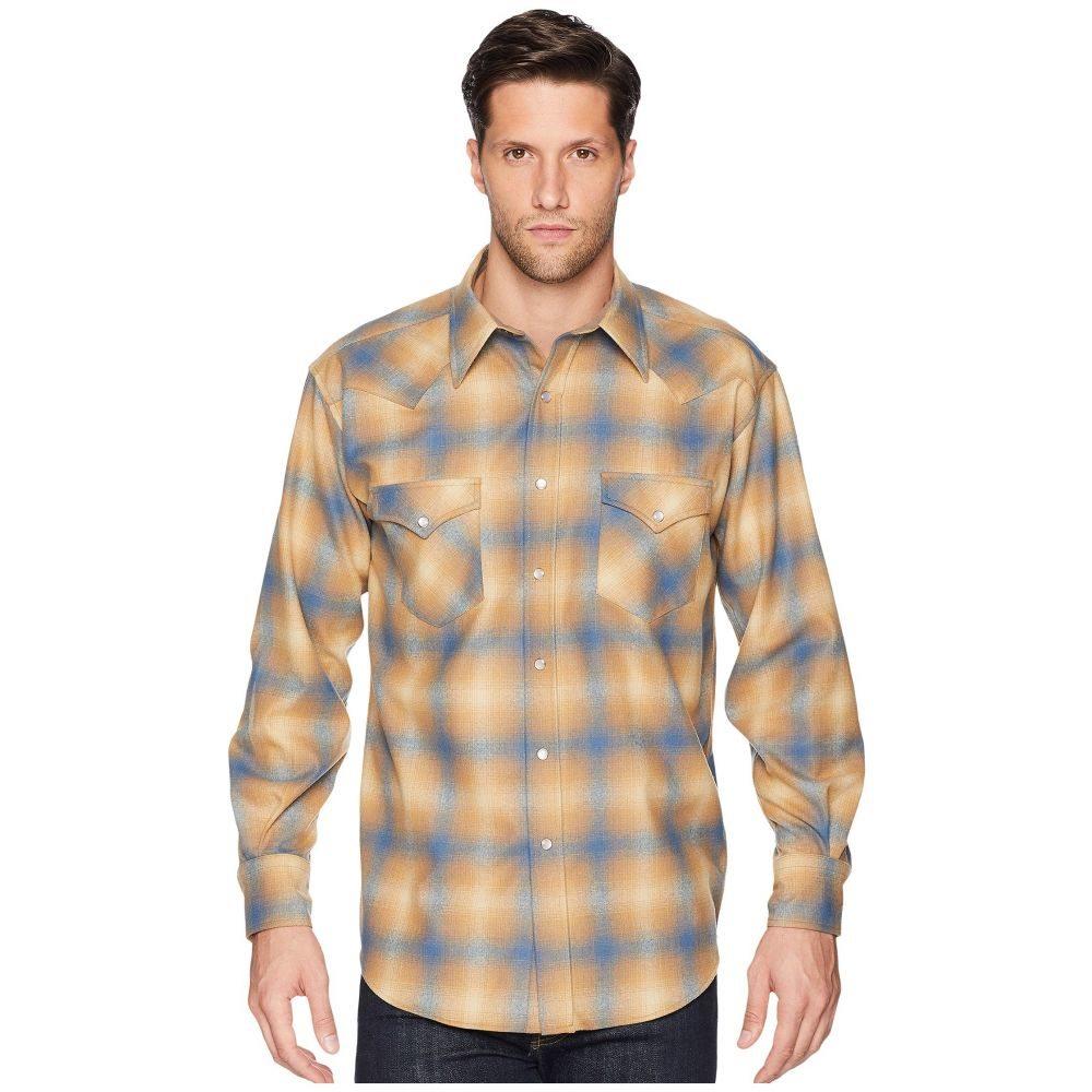 ペンドルトン Pendleton メンズ トップス シャツ【L/S Canyon Shirt】Tan/Blue Ombre 1