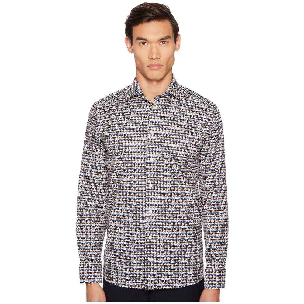 イートン Eton メンズ トップス シャツ【Slim Fit Geo Print Shirt】Multi