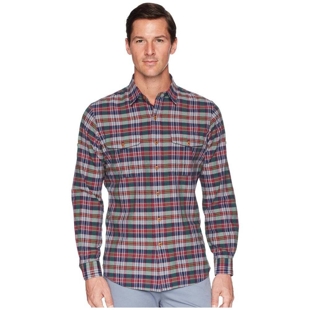 ラルフ ローレン Polo Ralph Lauren メンズ トップス シャツ【Madras Ranger Military Roll Up Tab Long Sleeve Sport Shirt】Shiraz/Hunter Multi