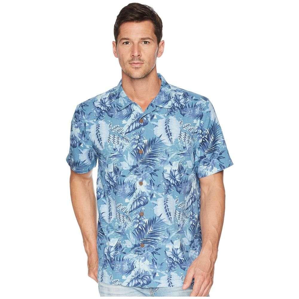 トミー バハマ Tommy Bahama メンズ トップス シャツ【Selva Shores IslandZone Camp Shirt】Ocean Deep