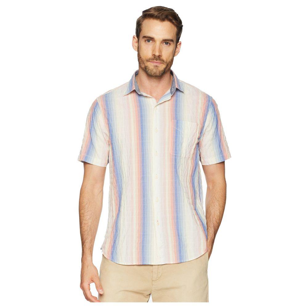トミー バハマ Tommy Bahama メンズ トップス シャツ【La Prisma Stripe Camp Shirt】Coral Haze