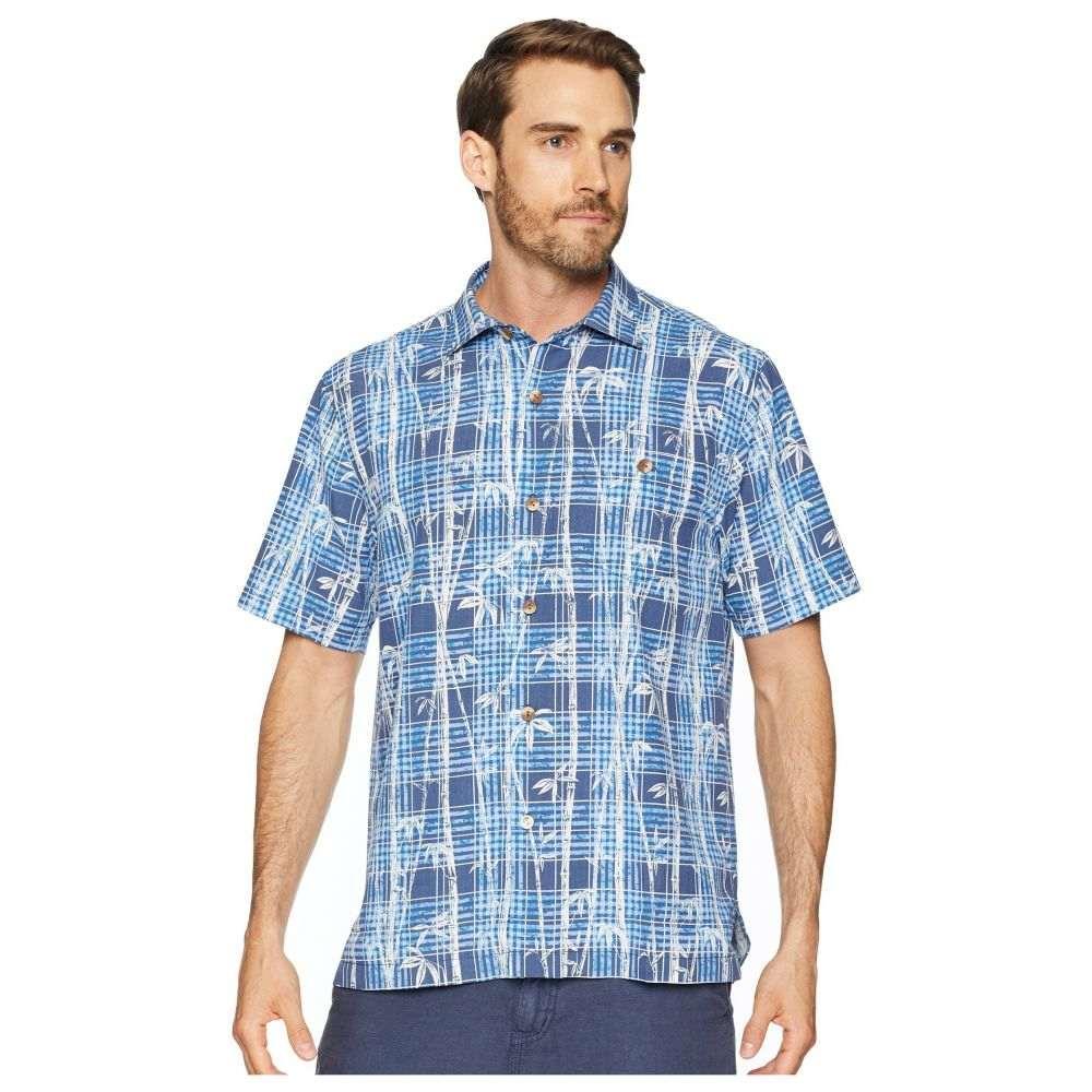 トミー バハマ Tommy Bahama メンズ トップス シャツ【Bianco Bamboo Camp Shirt】Ocean Deep