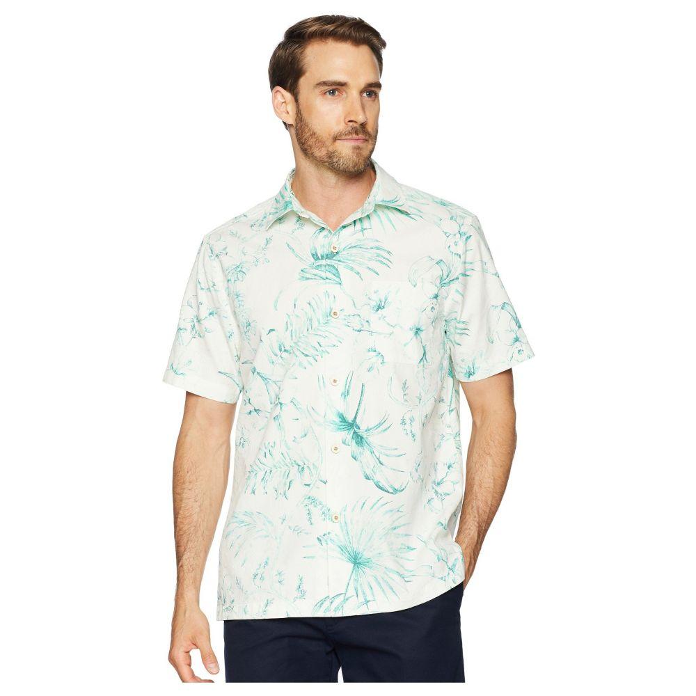 トミー バハマ Tommy Bahama メンズ トップス シャツ【El Botanico Camp Shirt】Marble Cream