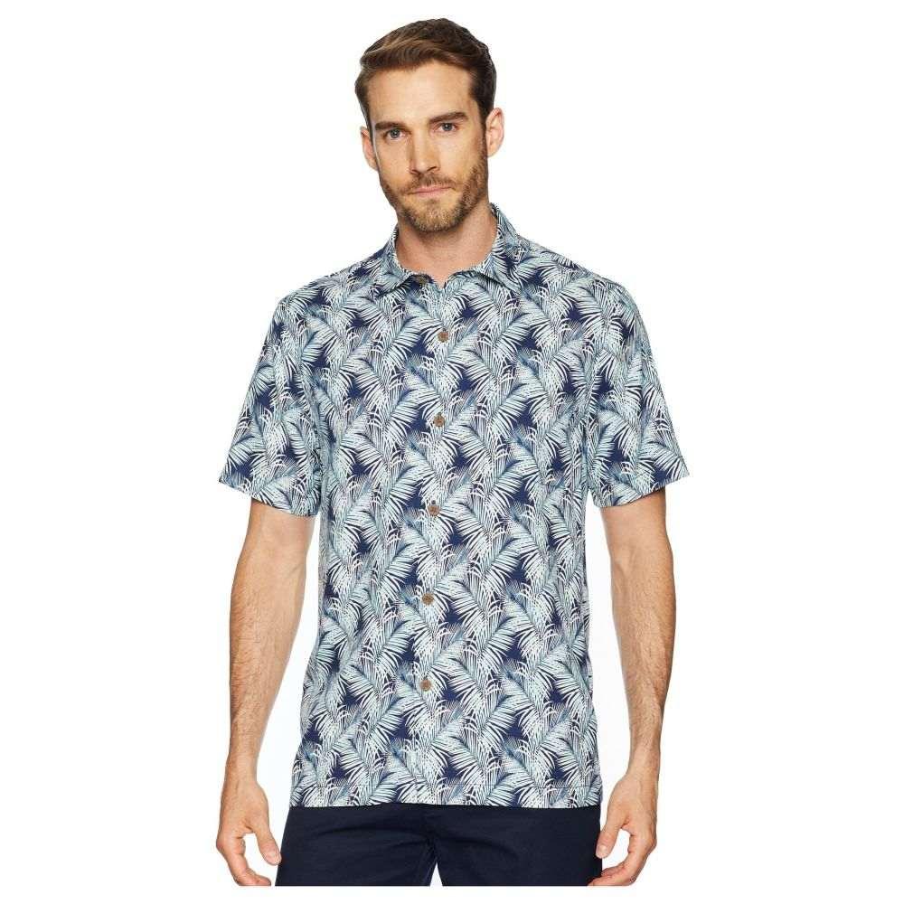 トミー バハマ Tommy Bahama メンズ トップス シャツ【Tulum Terrace Camp Shirt】Ocean Deep