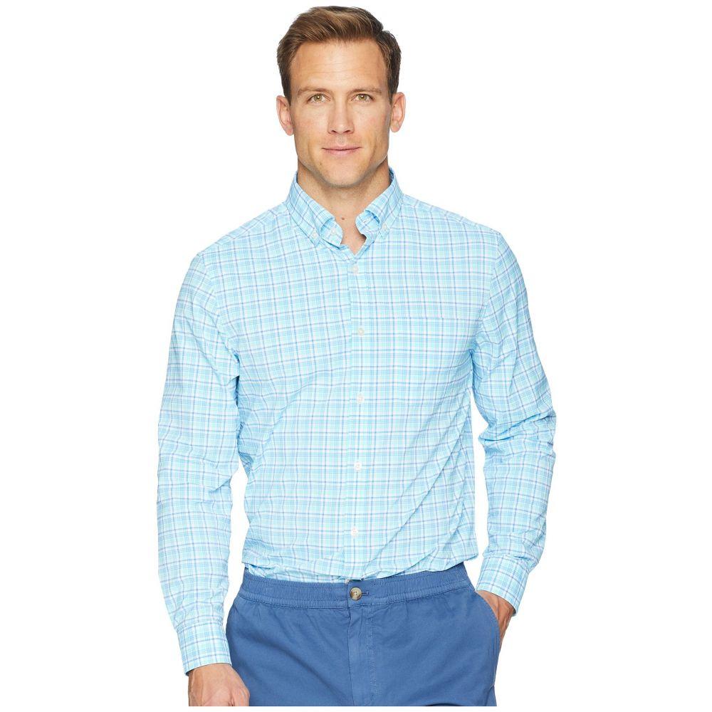 ヴィニヤードヴァインズ Vineyard Vines メンズ トップス シャツ【Tipsy Bar Plaid Performance Murray Shirt】Turquoise