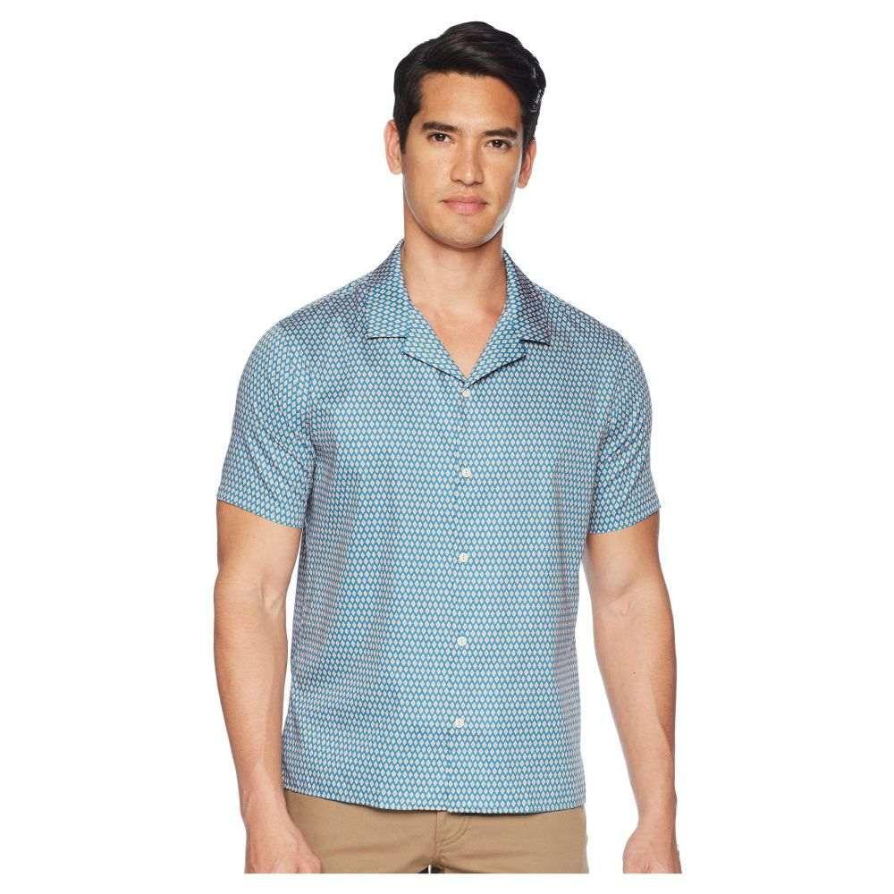 クーパース The Kooples メンズ トップス シャツ【Pop Bingo Print Shirt】Blue