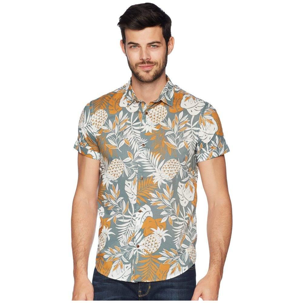 スコッチ&ソーダ Scotch & Soda メンズ トップス シャツ【All Over Printed Cotton Voile Shirt】Combo A