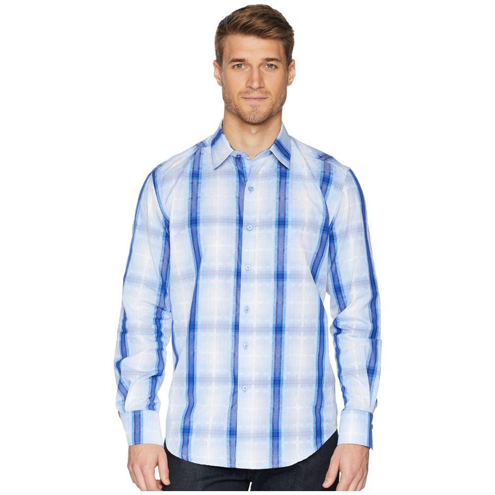 ロバートグラハム Robert Graham メンズ トップス シャツ【Tonga Long Sleeve Woven Shirt】Blue