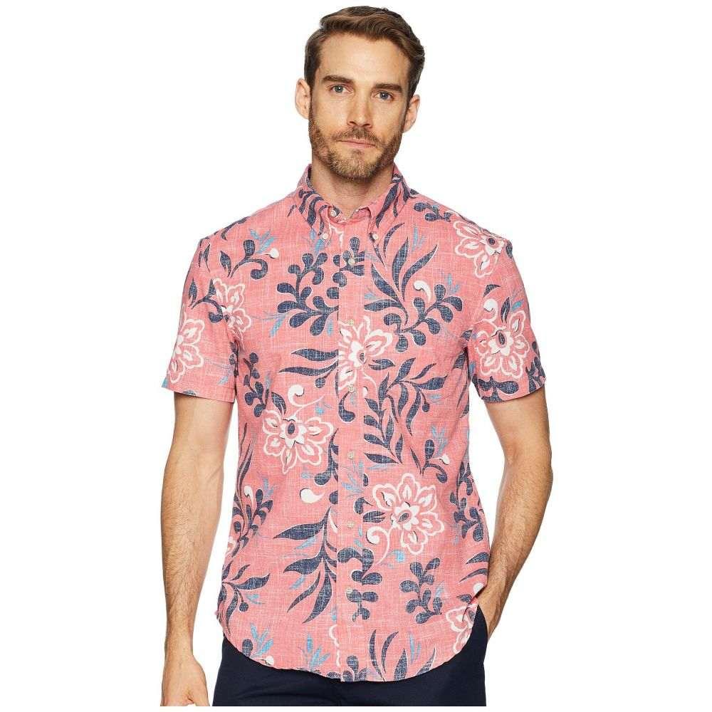 レインスプーナー Reyn Spooner メンズ トップス シャツ【Perennial Pareau Tailored Fit Aloha Shirt】Pink