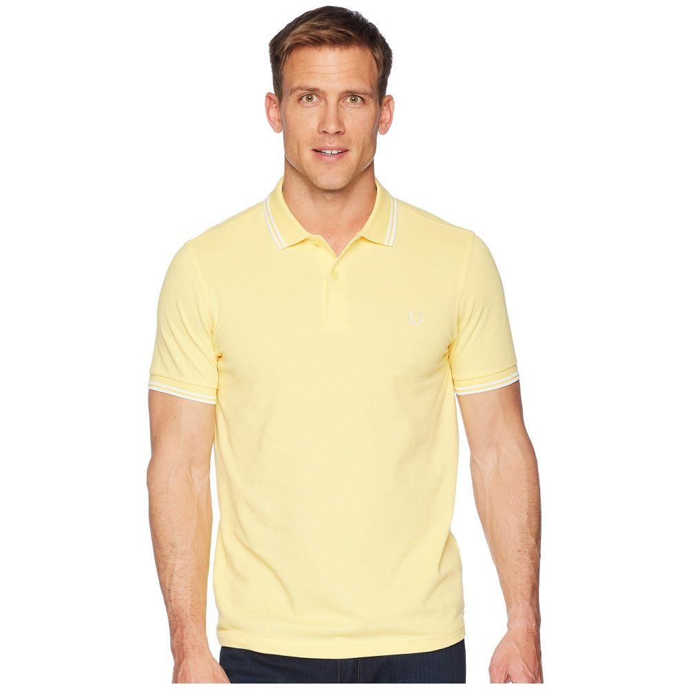 フレッドペリー Fred Perry メンズ トップス ポロシャツ【Twin Tipped Shirt】1964 Yellow/Snow White