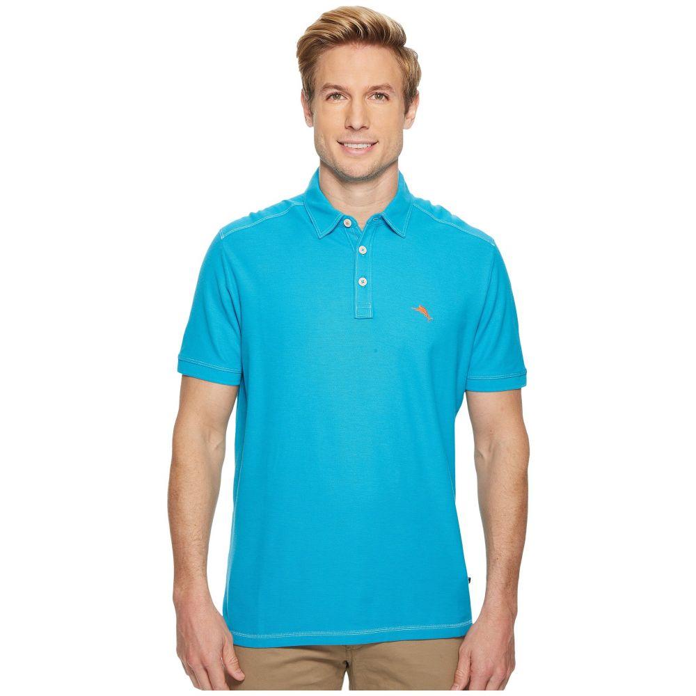 トミー バハマ Tommy Bahama メンズ トップス ポロシャツ【Tropicool IslandZone Pique Spectator Polo】Tropical Turquoise