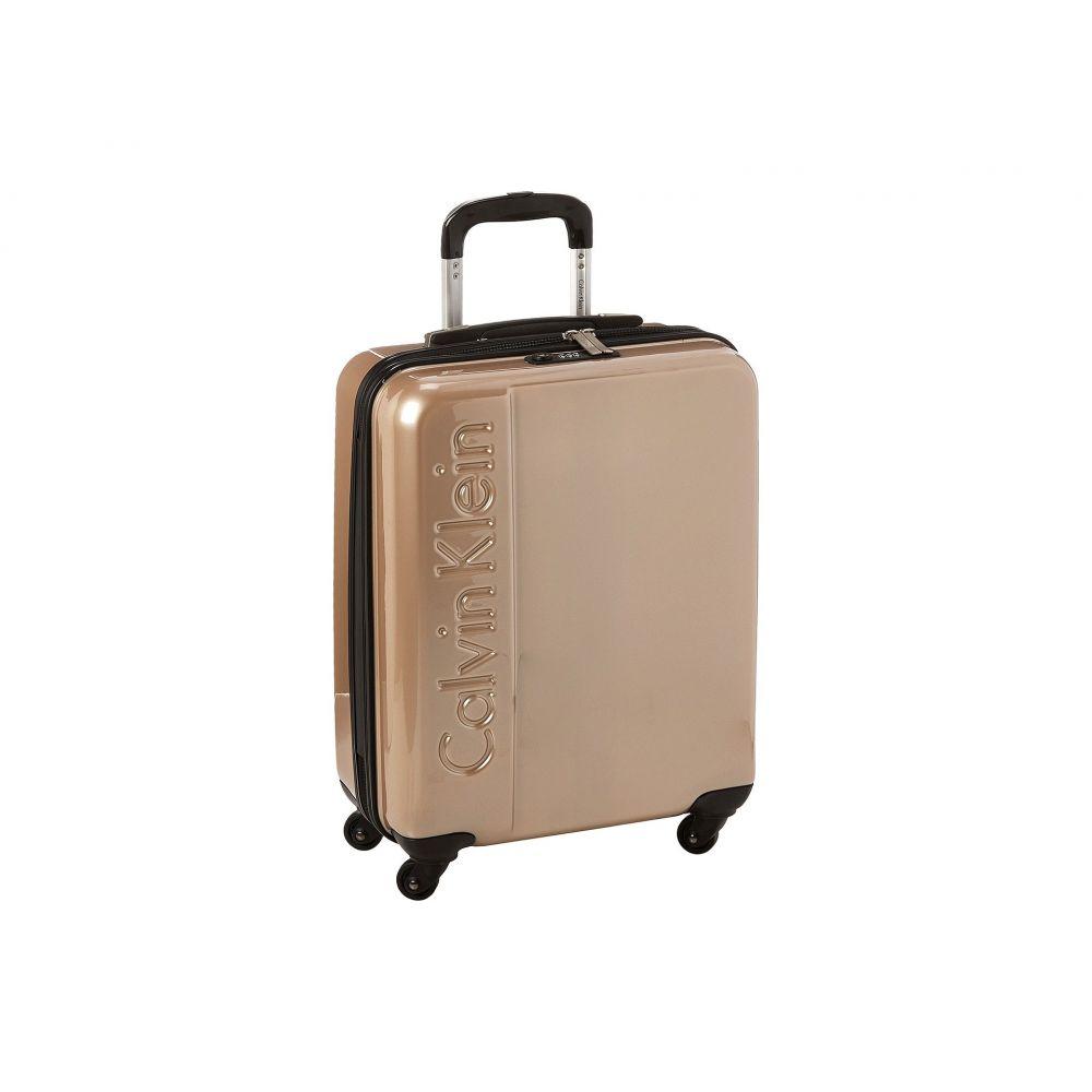 カルバンクライン Calvin Klein メンズ バッグ スーツケース・キャリーバッグ【Manhattan 2.0 21 Hardside Spinner】Champagne