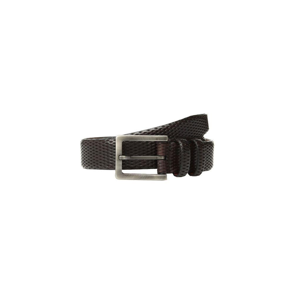 トリノレザー Torino Leather Co. メンズ ベルト【35mm Italian Layered Diamond Calf】Mahogany
