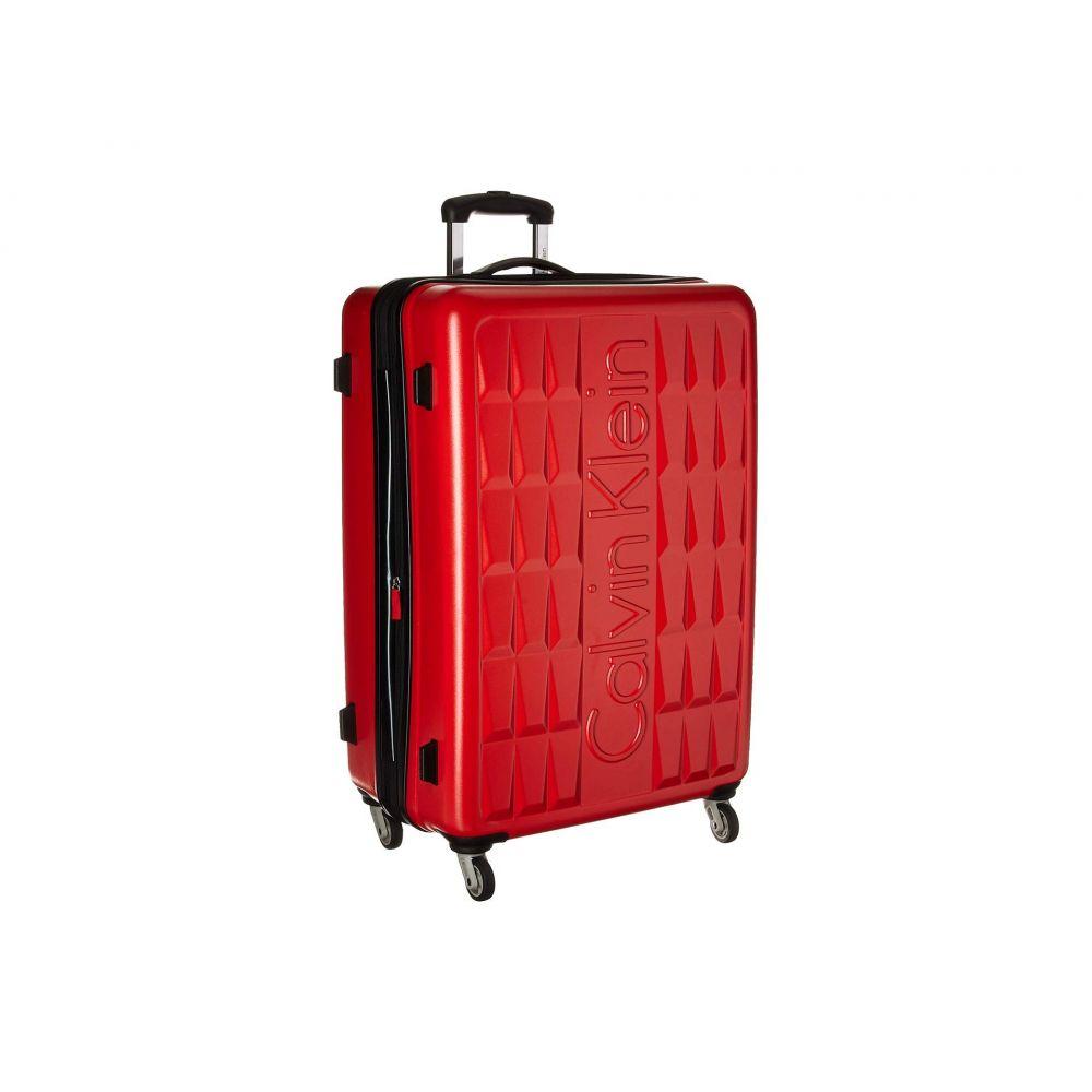 カルバンクライン Calvin Klein メンズ バッグ スーツケース・キャリーバッグ【24 Cornell Hardside Spinner】Red
