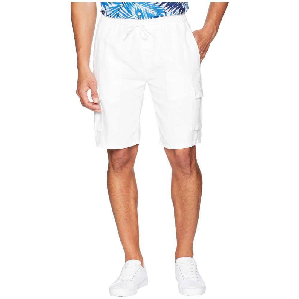 オニア onia メンズ ボトムス・パンツ ショートパンツ【Tom Cargo Linen Shorts】White