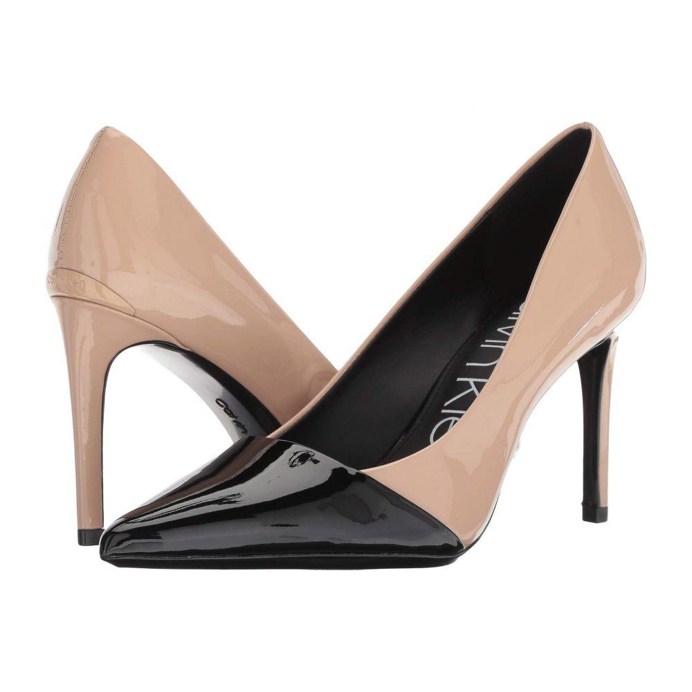 カルバンクライン Calvin Klein レディース シューズ・靴 パンプス【Roslyn】Desert Sand/Black Patent Smooth/Patent