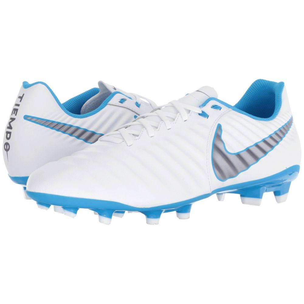 ナイキ Nike メンズ サッカー シューズ・靴【Tiempo Legend 7 Academy FG】White/Metallic Cool Grey/Blue Hero