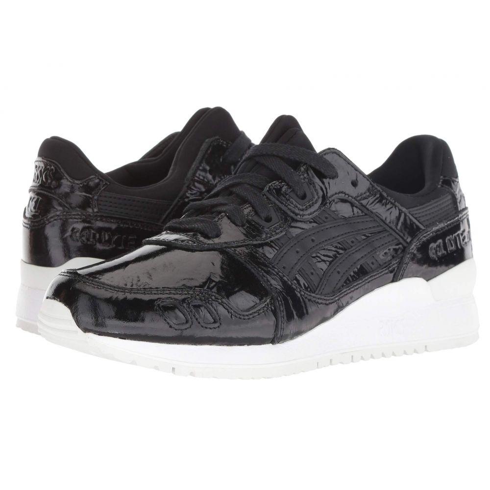 アシックス ASICS レディース ランニング・ウォーキング シューズ・靴【Gel-Lyte III】Black/Black 2