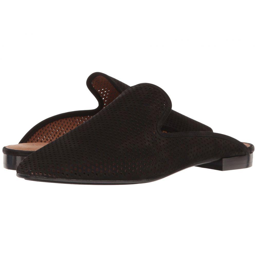 フライ Frye レディース シューズ・靴【Gwen Perf Slide】Black Oiled Nubuck