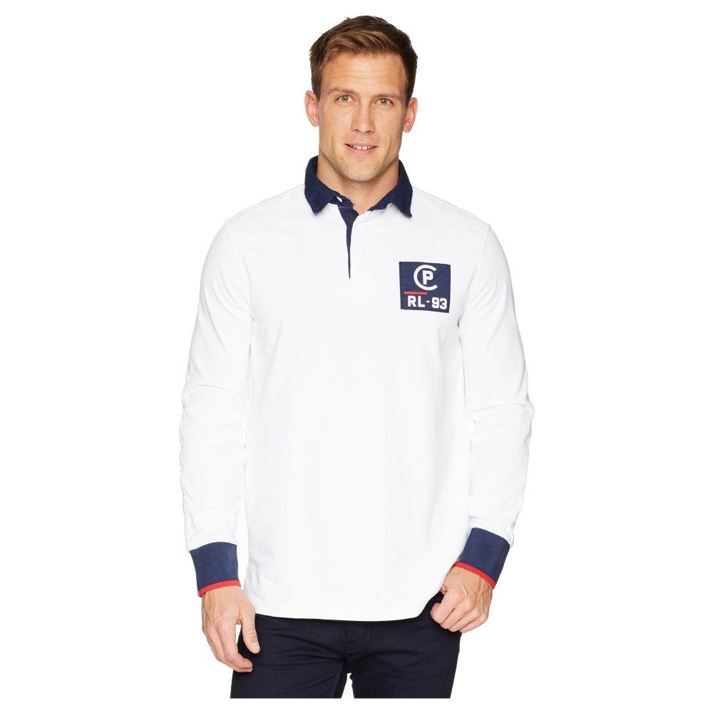 ラルフ ローレン Polo Ralph Lauren メンズ トップス ポロシャツ【CP-93 Lightweight Rustic Jersey Polo】White