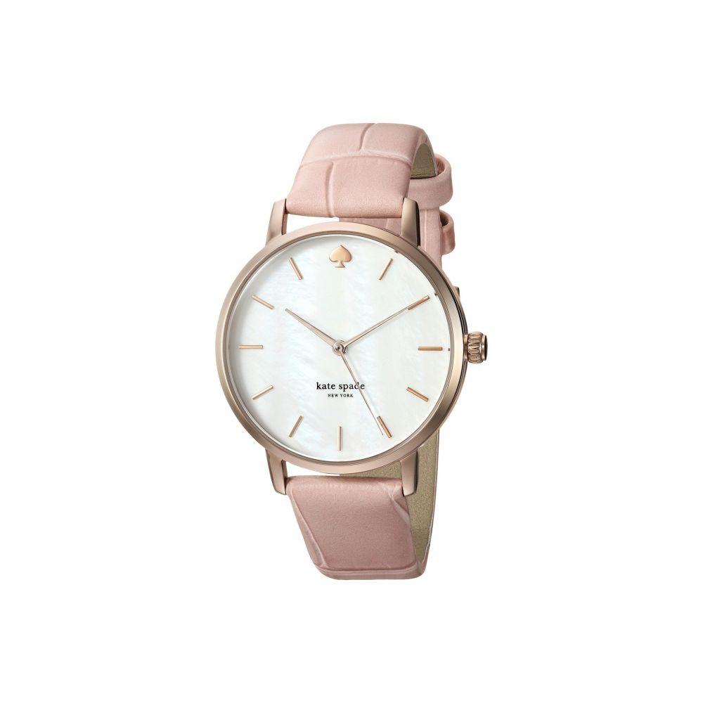 ケイト スペード Kate Spade New York レディース 腕時計【Metro - KSW1425】Pink